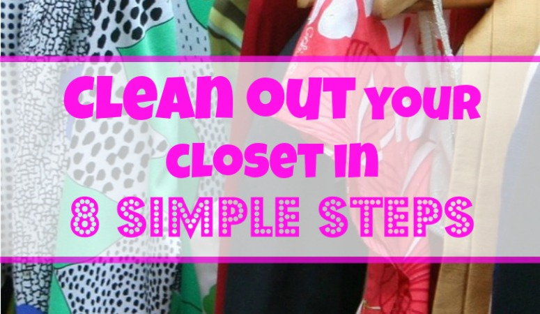 Clean Out Your Closet In 8 Simple Steps Little Cottage Life